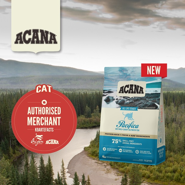 Acana Pacifica Cat & Kitten Dry Formula 1.8kg