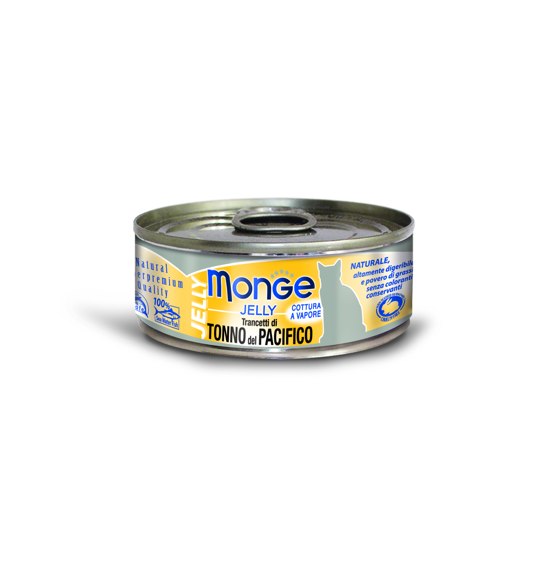 Monge Jelly Yellowfin Tuna Cat Canned Food