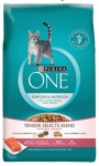 Purina One Tender Selects Blend Salmon Cat Food