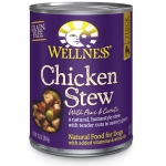 Wellness Chicken Stew with Peas & Carrots Dog Canned