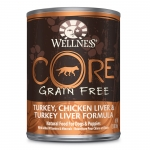 Wellness CORE Turkey, Chicken Liver & Turkey Liver Dog Canned