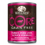 Wellness CORE Turkey, Pork Liver & Duck  Dog Canned