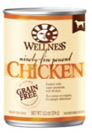 Wellness 95% Chicken Dog Canned