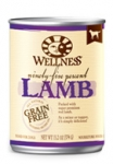 Wellness 95% Lamb Dog Canned
