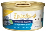 Aatas Cat Finest Fruity Feast Chicken with Blueberry in gravy formula Cat Canned 70g