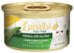 Aatas Cat Finest Fruity Feast Chicken with Zucchini in gravy formula Cat Canned 70g