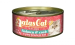 Aatas Cat Savory Salmon & Crab in Gravy Formula