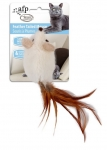AFP Classic Comfort Feather Tailed Mouse White