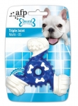 AFP Dental Chews Dental Triple Joint Blue