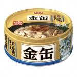 Aixia Kin-can Mini Tuna with Dried Skipjack Cat Canned Food (GCM 35)