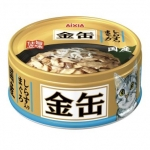 Aixia Kin-can Mini Tuna with Whitebait Cat Canned Food (GCM 36)