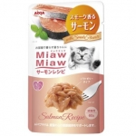 Aixia Miaw Miaw Smoked Salmon Cat Pouch Food (MSP 3)