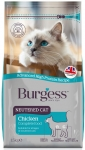 Burgess Chicken Neutered Cat Dry Formula 1.5kg