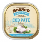 Bronco Cod Pate Tray Dog Wet Food