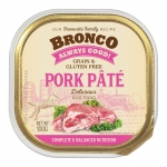 Bronco Pork Pate Tray Dog Wet Food
