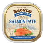 Bronco Salmon Pate Tray Dog Wet Food