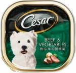 Cesar Beef & Vegetables Dog Wet Food