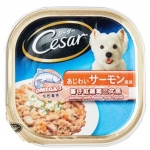 Cesar Salmon and Potato & Carrot Dog Wet Food
