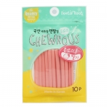 Chewrous Strawberry Dental Dog Treats