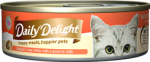 Daily Delight Skipjack Tuna White with Carrot in Jelly Cat Canned