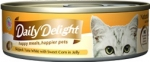 Daily Delight Skipjack Tuna White with Sweet Corn in Jelly Cat Canned