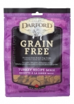 Darford Grain Free Turkey MINIs Dog Treats 340g