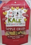 Dogs Love Kale All Natural Wheat Free Apple Crisp Dog Treats