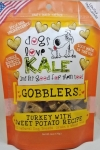 Dogs Love Kale All Natural Wheat Free Gobblers Dog Treats