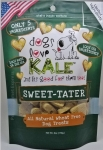 Dogs Love Kale All Natural Wheat Free Sweet Tater Dog Treats