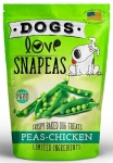 Dogs Love Kale Snapeas Peas with Chicken Dog Treats