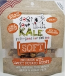 Dogs Love Kale SOFT Chicken with Sweet Potato Dog Treats