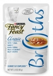 Fancy Feast Classic Tuna, Shrimp & Whitefish in a Decadent Silky Broth Cat Pouch