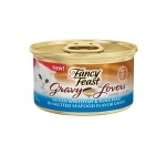 Fancy Feast Gravy Lovers Ocean Whitefish & Tuna Feast in Sauteed Seafood Flavor Gravy