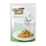 Fancy Feast Inspirations Chicken Pasta Pearl & Spinach Cat Pouch Food