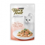 Fancy Feast Inspirations Salmon, Spinach, Courgette & Green Beans Cat Pouch Food