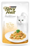 Fancy Feast Inspirations with Turkey, Green Peas & Carrots Cat Pouch