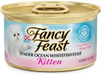 Fancy Feast Kitten Tender Ocean Whitefish Feast