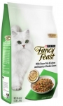 Fancy Feast Ocean Fish & Salmon and Accents of Garden Greens Cat Dry Formula