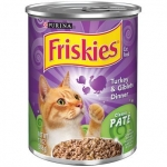 Friskies Turkey & Giblet Dinner Cat Canned Food