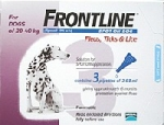Frontline for Large Dog 20-40kg