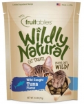 Fruitables Wildly Natural Cat Treat Wild Caught Tuna Flavor