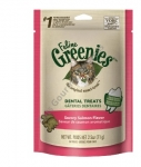 Greenies Feline Dental Treats Savory Salmon Flavor