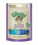 Greenies Feline Flavour Fusion Dental Treats Ocean Fish & Tempting Tuna Flavor