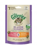 Greenies Feline Flavour Fusion Dental Treats Savory Salmon & Oven Roasted Chicken Flavor