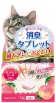 Happy Pet Deodorant Tablet Fresh Peach
