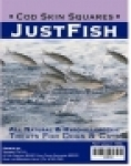 Just Fish - Cod Skin Squares Dog Treats