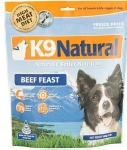 K9 Natural Freeze Dried Beef Feast Dog