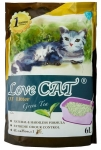 Lovecat Tofu Cat Litter – Green Tea 6L
