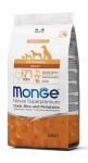 Monge All Breeds Adult Duck, Rice and Potatoes Dog Dry Formula 2.5kg
