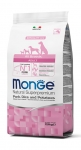 Monge All Breeds Adult Pork, Rice and Potatoes Dog Dry Formula 2.5kg
